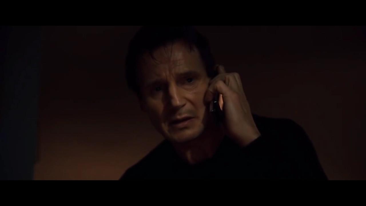 Liam Neeson's iconic Taken scene