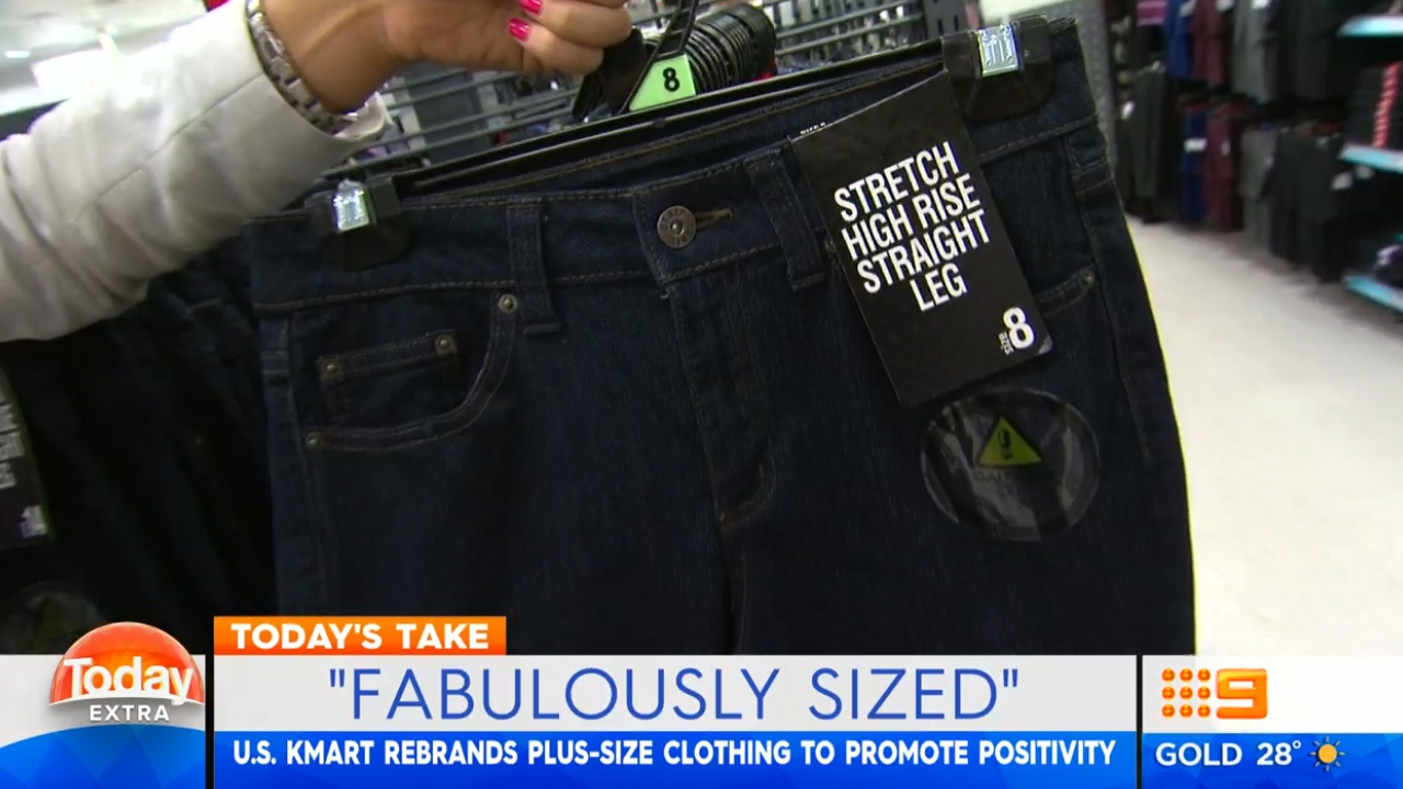 "Kmart swaps term plus size for ""Fabulously Sized"""