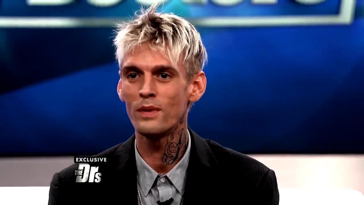 Aaron Carter reveals addiction to plastic surgery, promiscuous sex