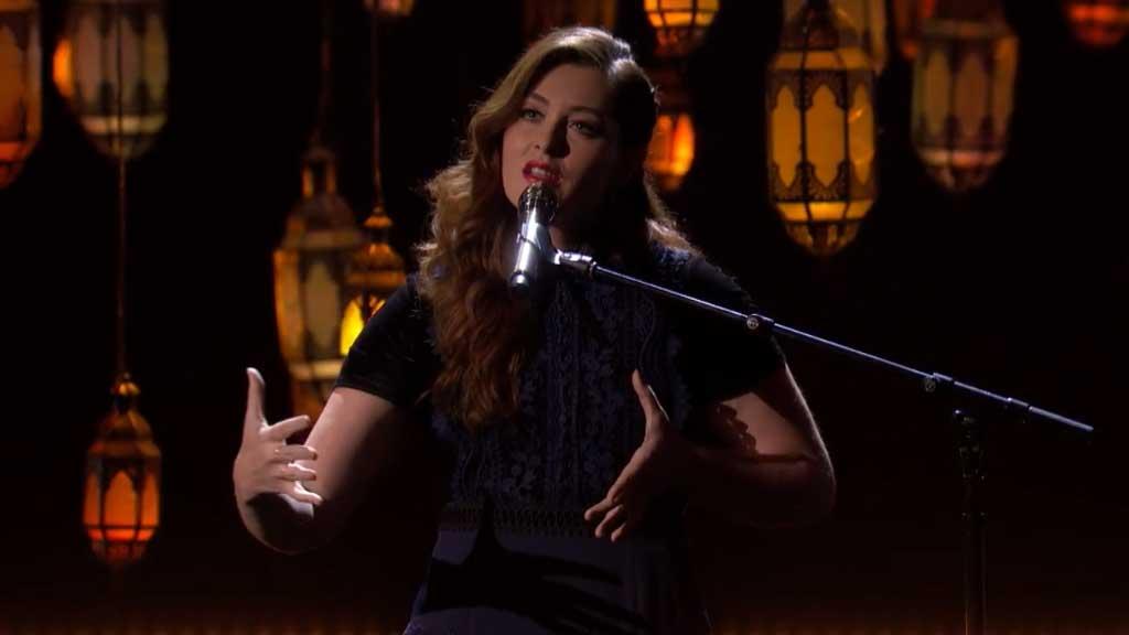 Mandy Harvey on America's Got Talent