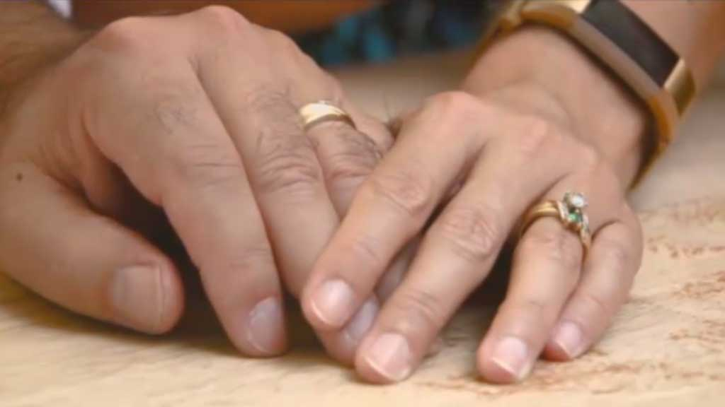 Woman finds lost wedding ring 11 years later