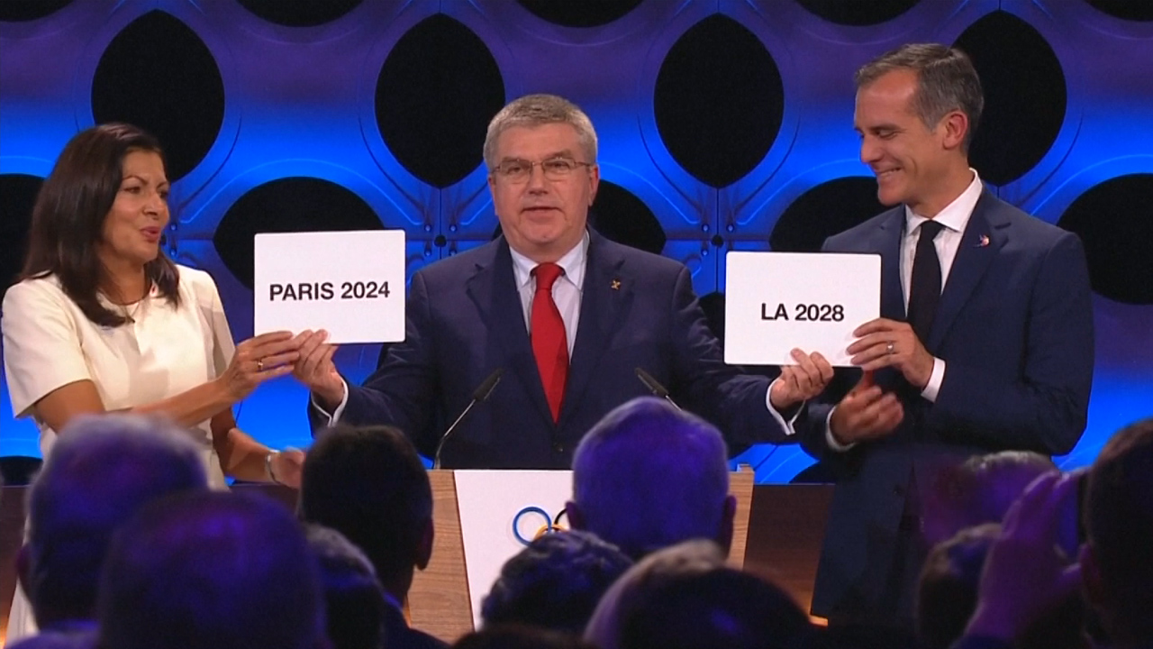Paris to host 2024 Olympic games, Los Angeles chosen for 2028