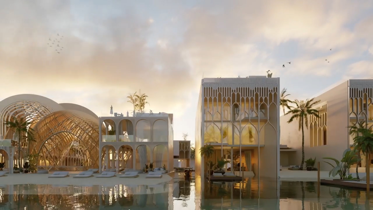 Floating Venice to be built in Dubai