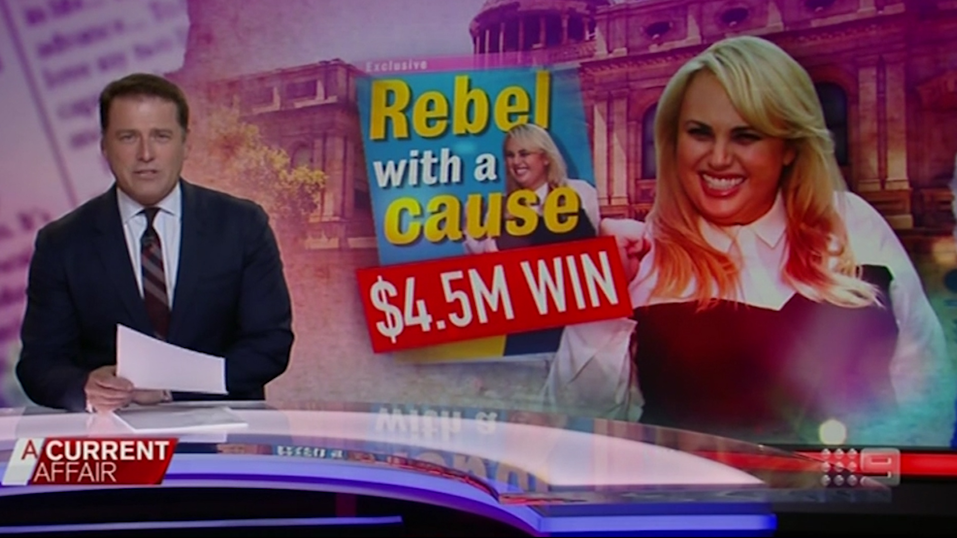 Karl Stefanovic on Rebel Wilson court win