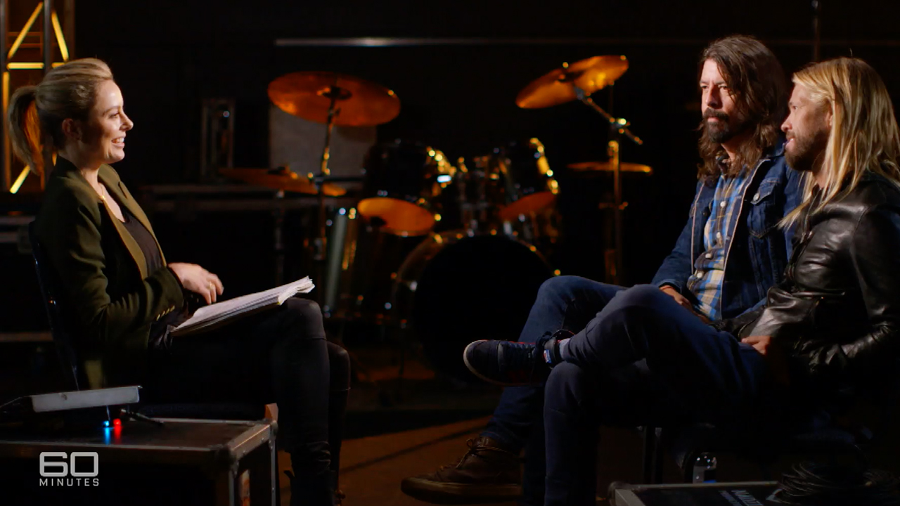 Exclusive clip | Foo Fighters 8.30 Sunday on 60 Minutes
