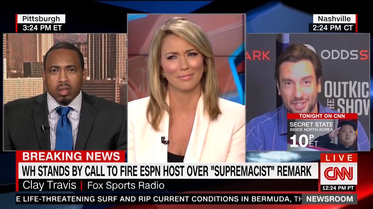 Sports journalist leaves CNN anchor shocked during live broadcast