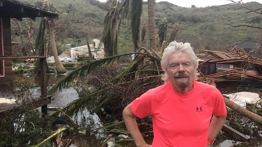 Richard Branson gives impassioned plea for Caribbean