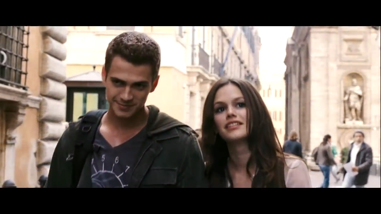 Hayden Christensen and Rachel Bilson star in 'Jumper'