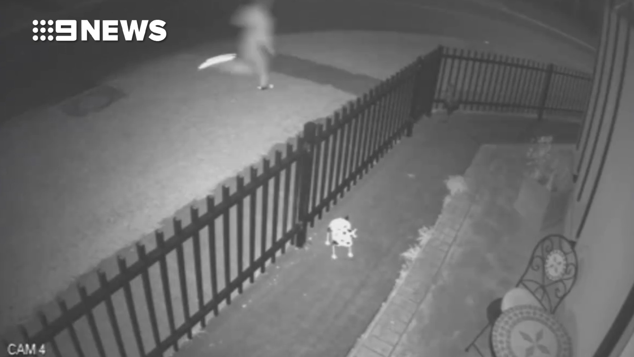 CCTV shows murder victim's last moments