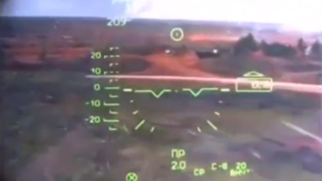 Cockpit vision from Russian helicopter incident