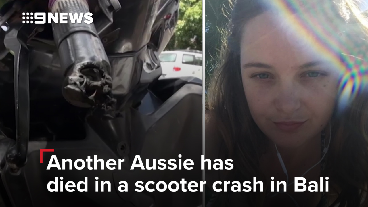 Young Australian dies in scooter crash in Bali