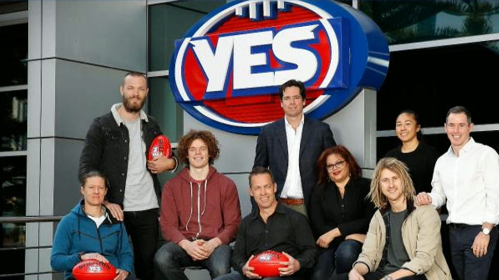 'YES' sign at AFL headquarters draws outrage from Mick Malthouse