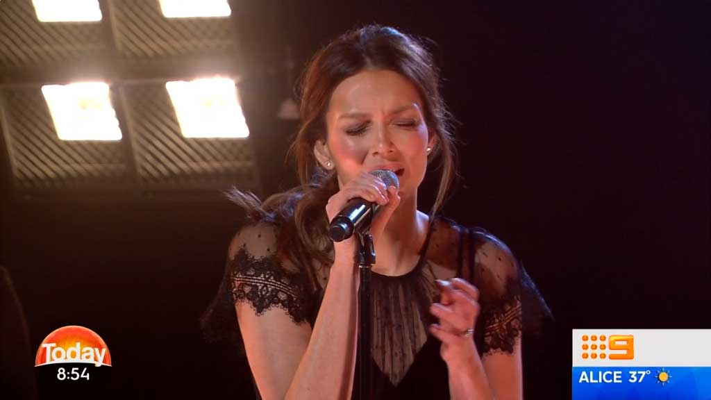 Ricki-Lee performs live on TODAY