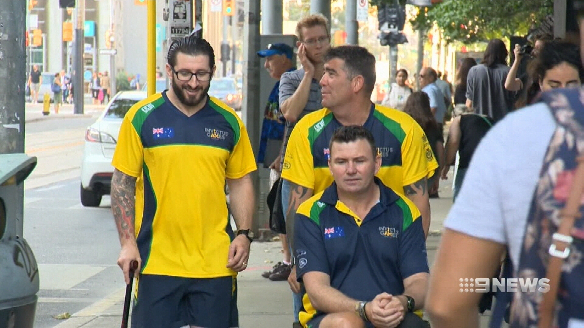 Aussie war veterans to compete for gold at Invictus Games