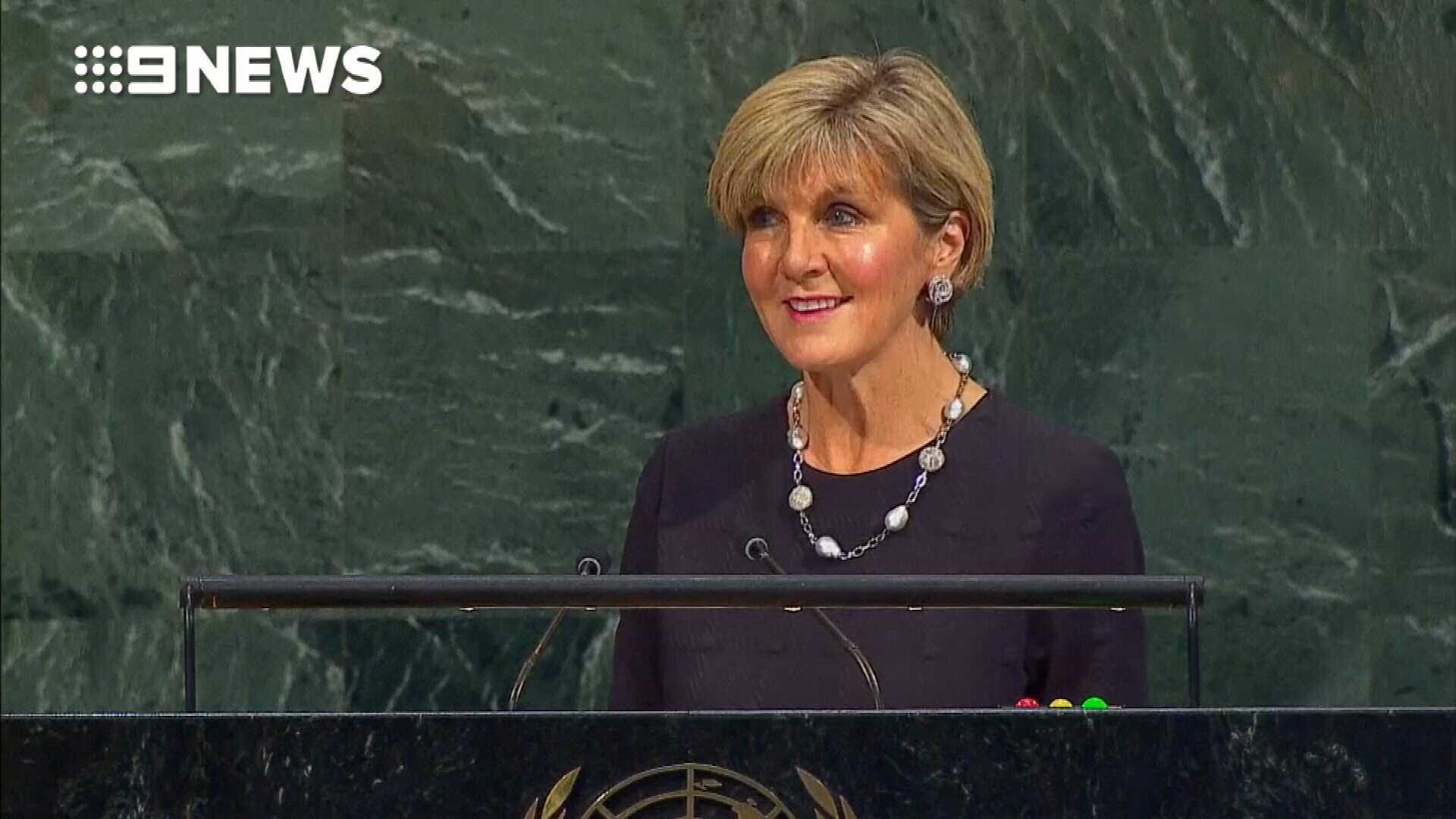 Julie Bishop slams North Korea in UN Speech