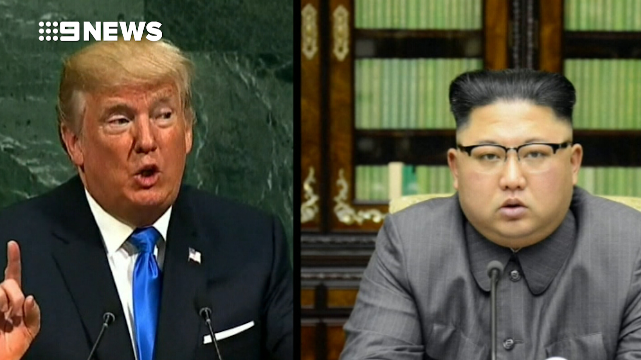 Trump responds to Kim Jong-un's comments