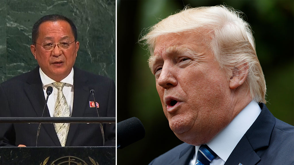North Korean foreign minister says Trump is on a 'suicide mission'