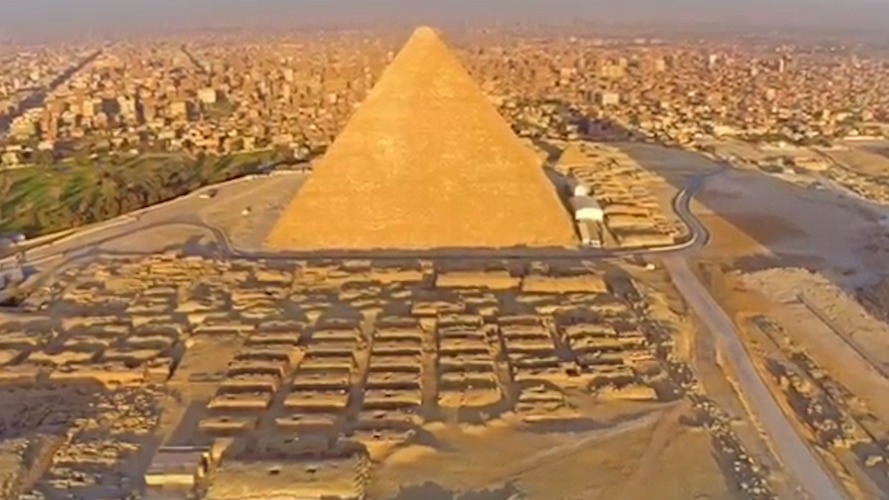 Giza pyramid stones could have been carried by boat