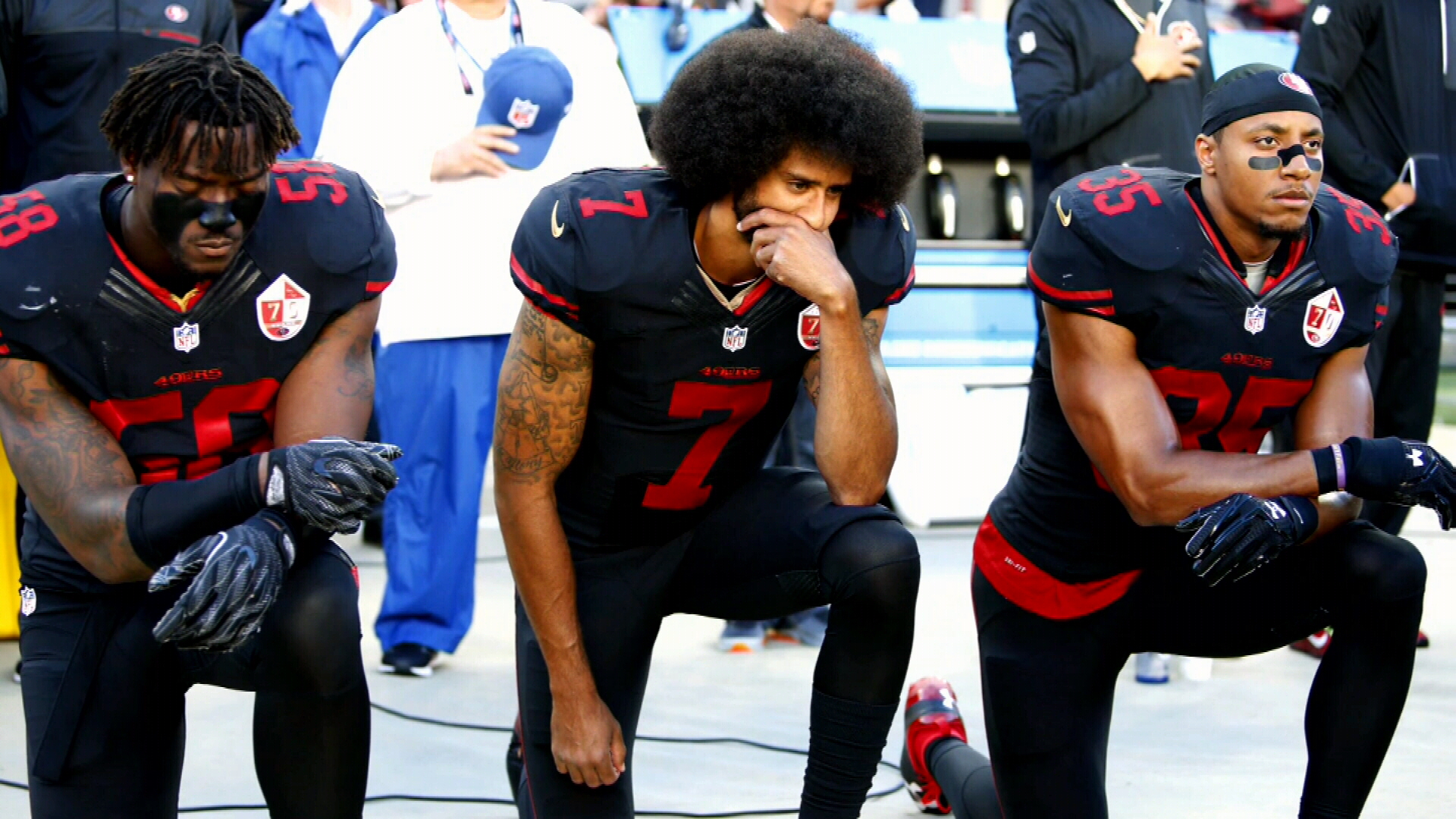 More than 100 NFL players in unprecedented protest