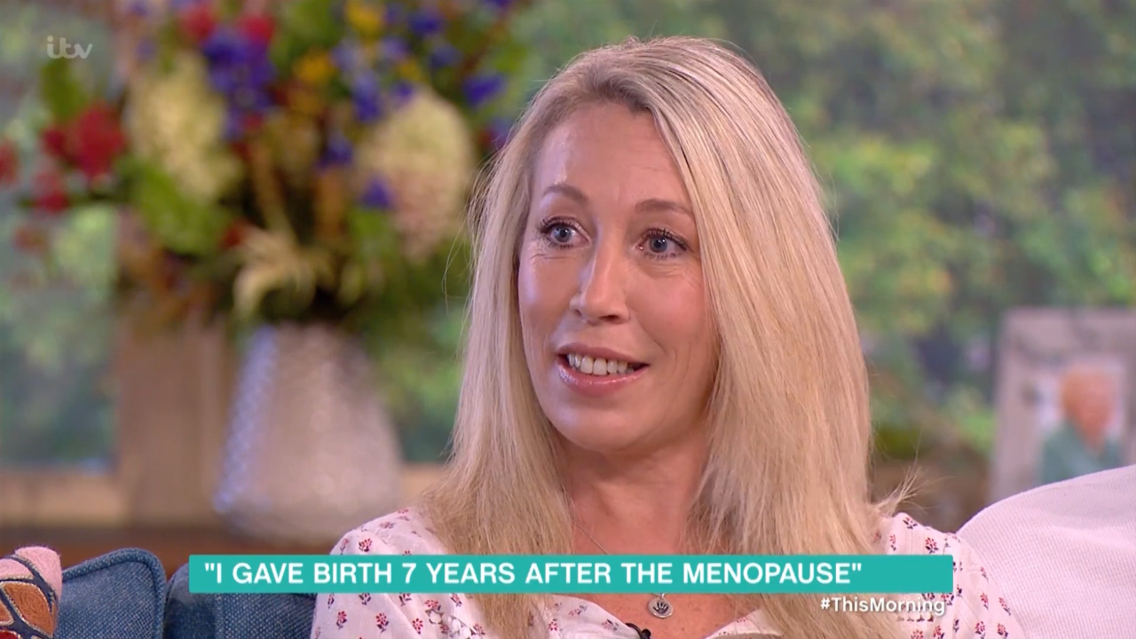 47-year-old menopausal woman gives birth