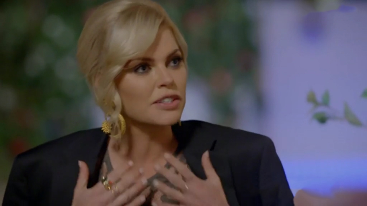 Jarrod Woodgate asks Sophie Monk to plant seeds with him on The Bachelorette