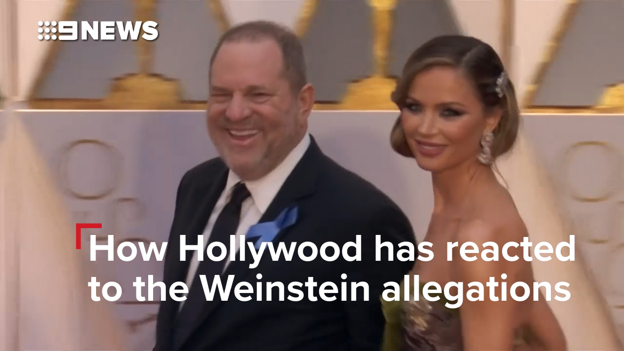 How Hollywood reacted to the Weinstein allegations
