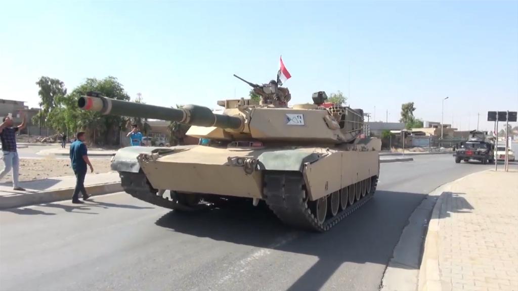 Iraqi forces enter Kirkuk