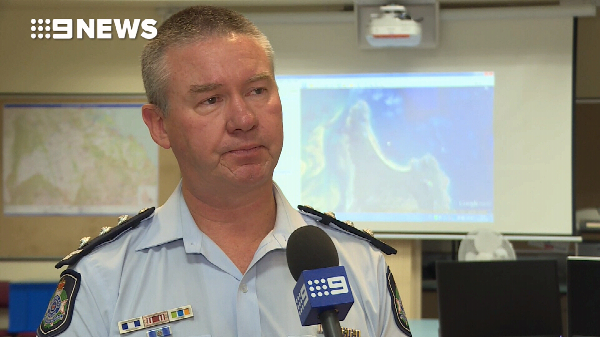 Police search for missing crew from capsized trawler