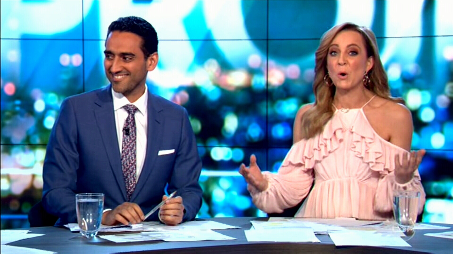 The Project hosts react to Lisa Wilkinson news