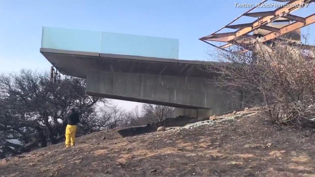 $22 million mansion gutted by California fire
