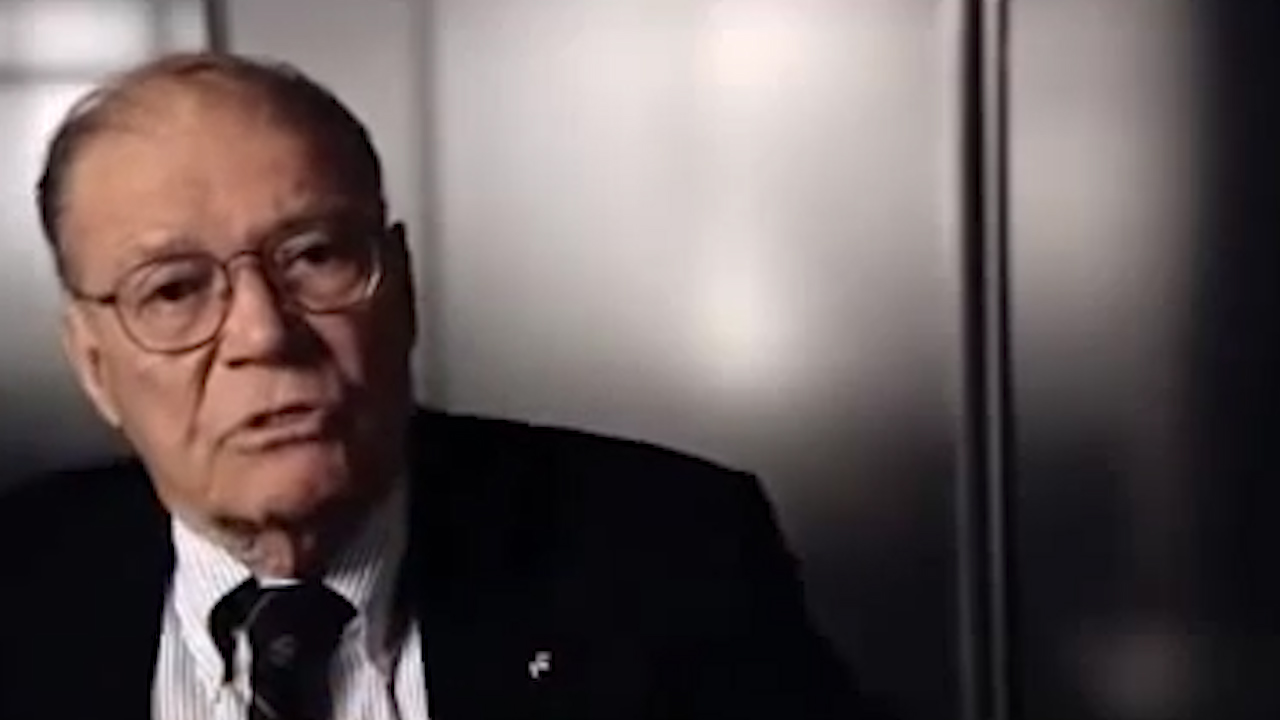 Robert McNamara talks about the cold war
