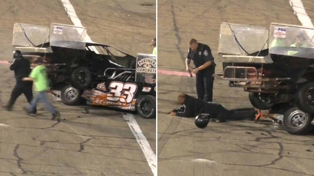 Speedway racer tased after road rage outburst
