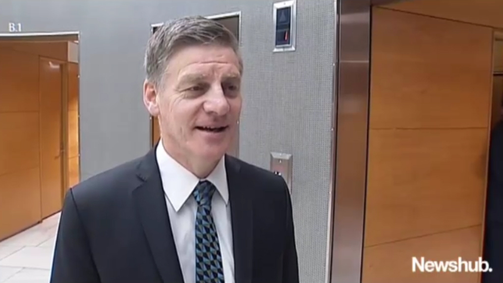 Bill English discusses New Zealand election