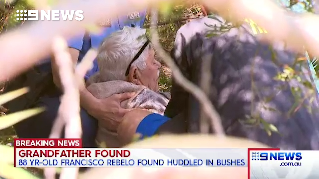 Missing grandfather found safe in bushland