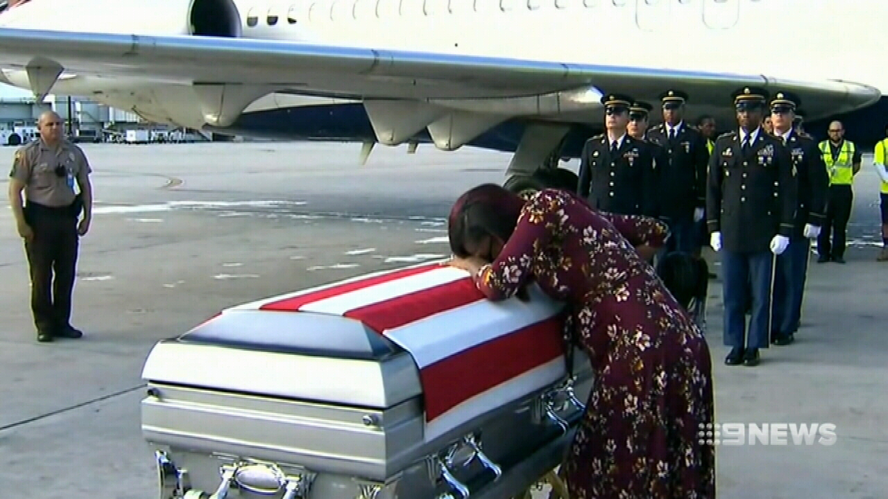 NEWS: Trump accused of offending military widow during condolence call