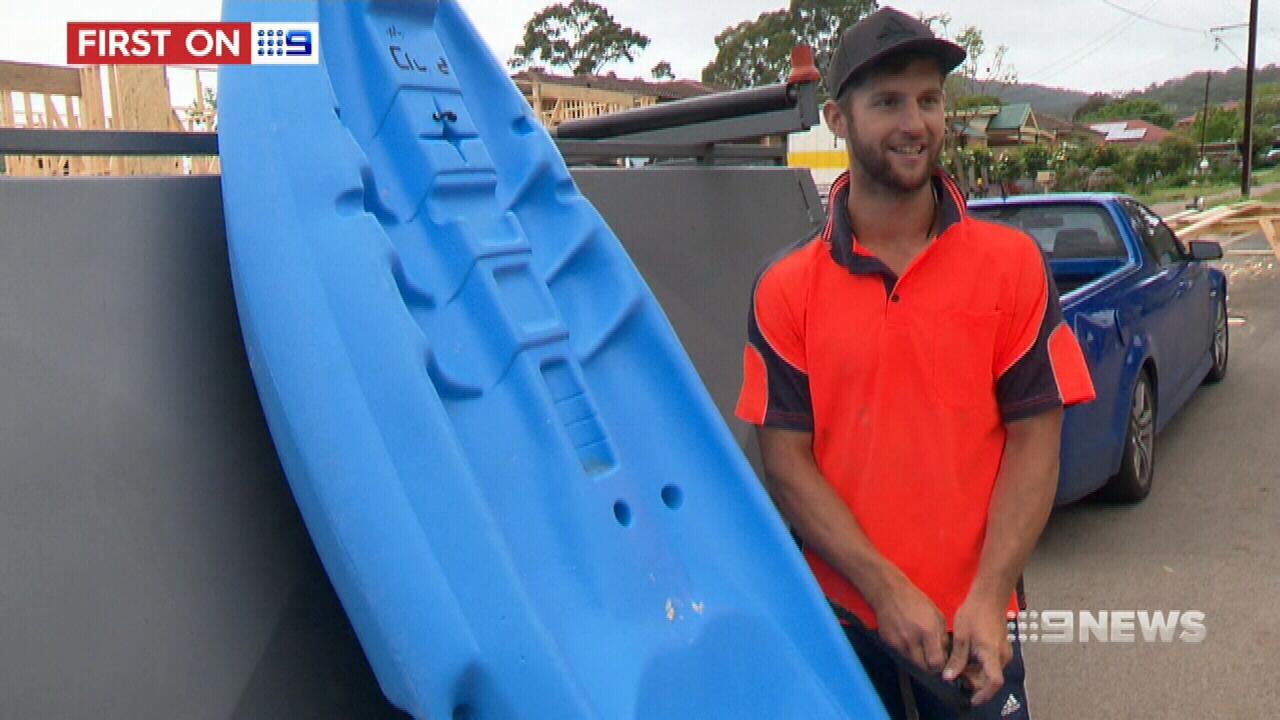 NEWS: Kayaker's close encounter with shark