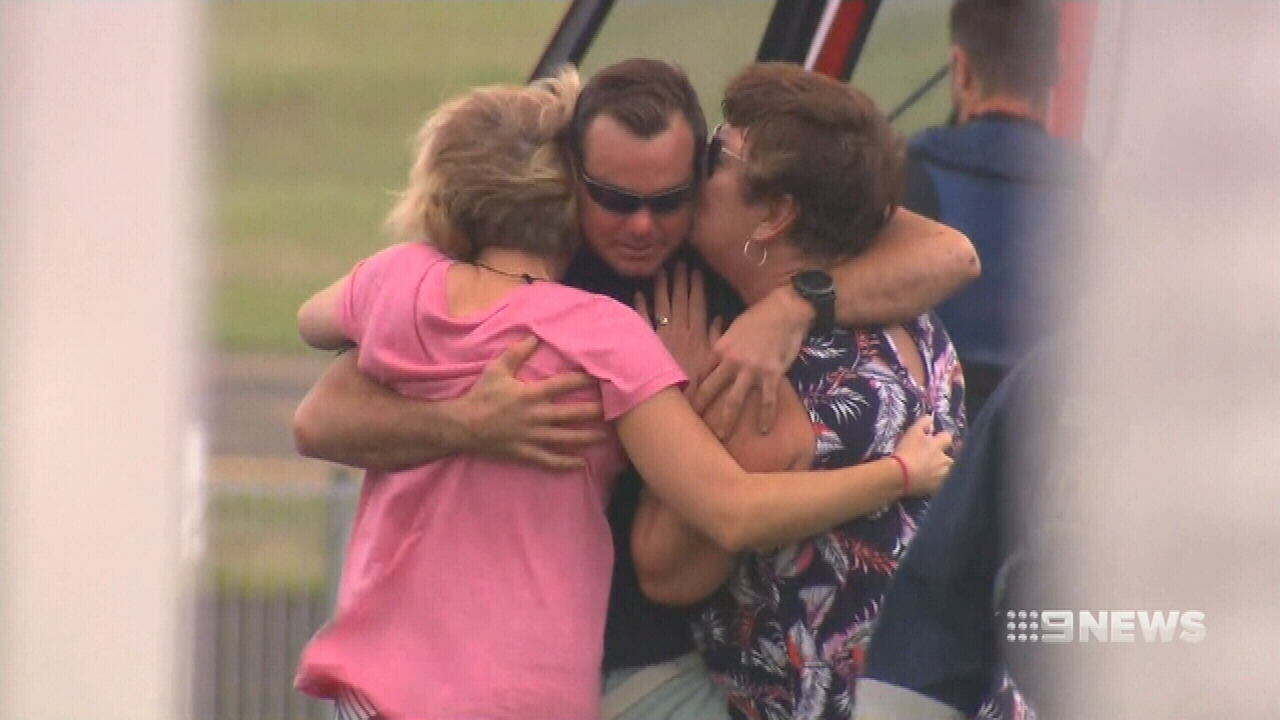 NEWS: Fisherman reunited with his wife