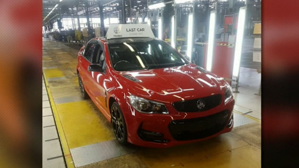 NEWS: Workers at Holden's Elizabeth plant produce final car