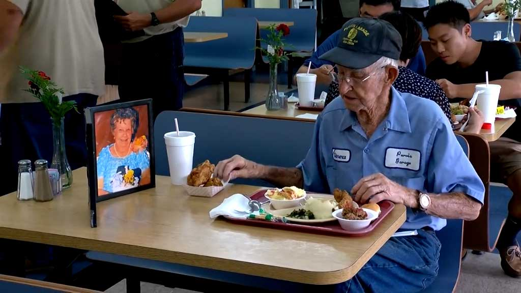 93-year-old man honours daily memory of late wife