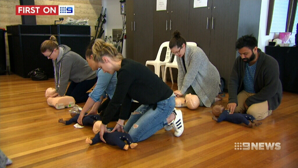 NEWS: Free tickets for baby first aid courses for parents