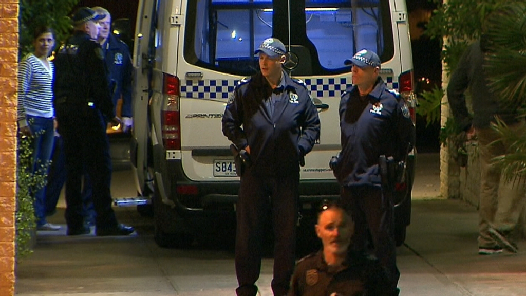 TODAY: Man suspected of ramming cop shot dead
