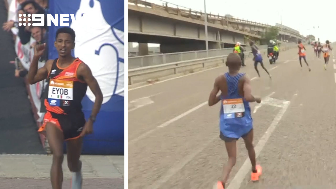 Unknown runner wins marathon after favourites take wrong turn