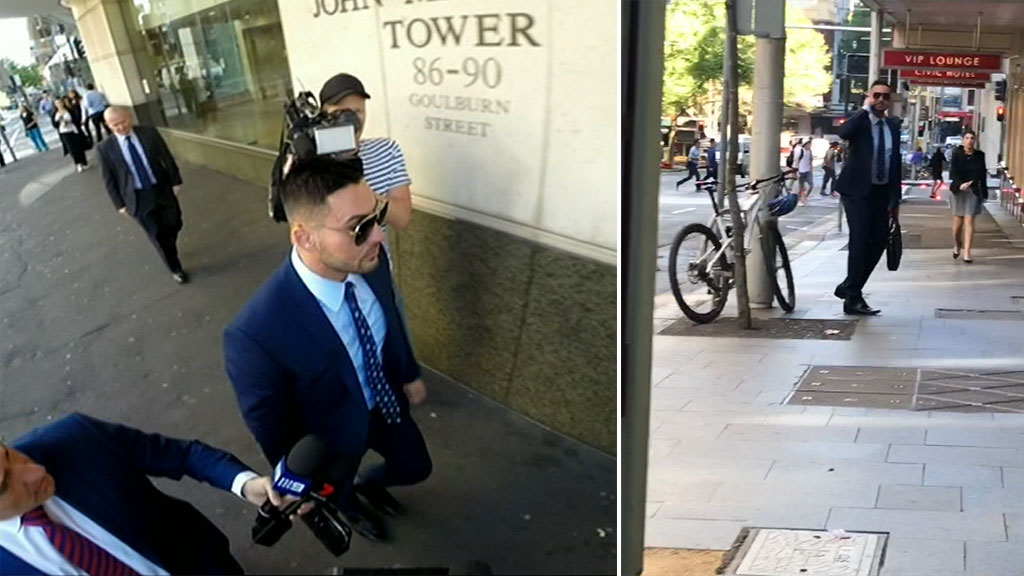Salim Mehajer back in court after car accident