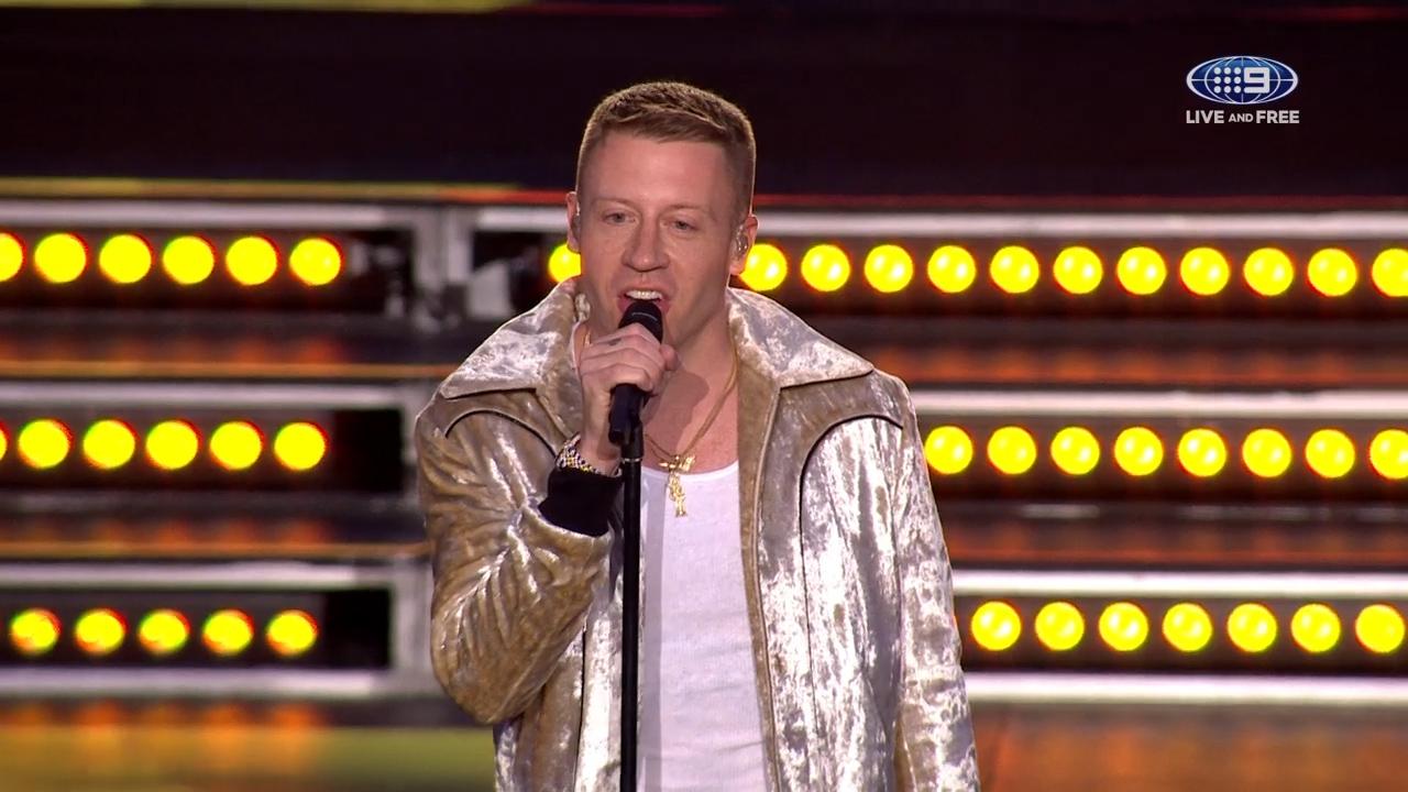 Macklemore performs 'Same Love'