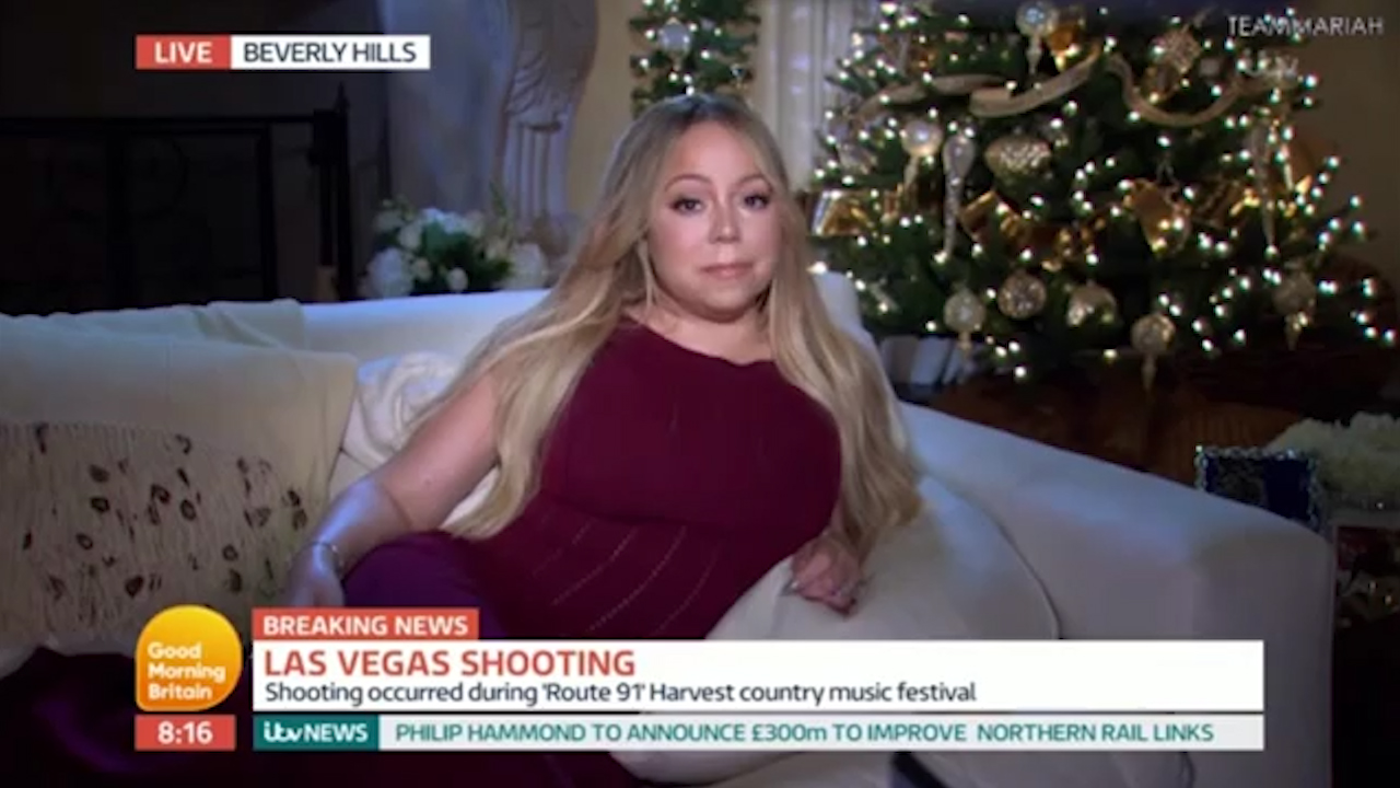 Mariah Carey discusses Las Vegas mass shooting