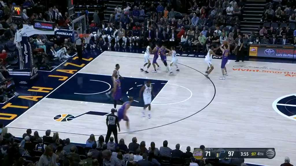 Kings fall to Jazz