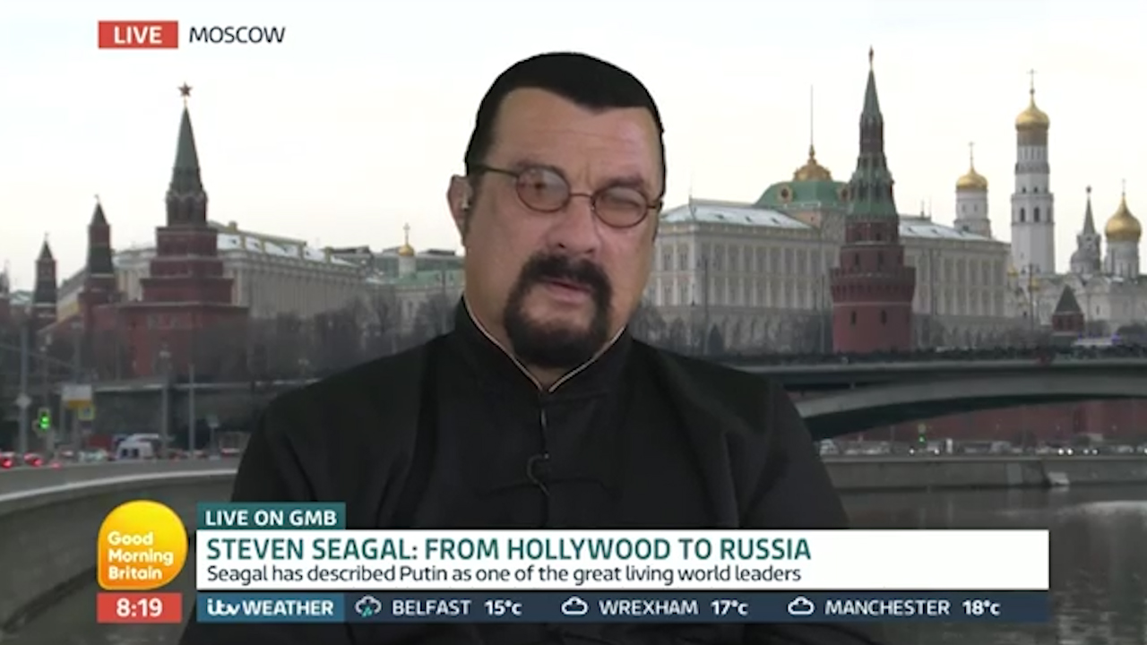 "Seagal labels kneeling NFL players ""disgusting"""