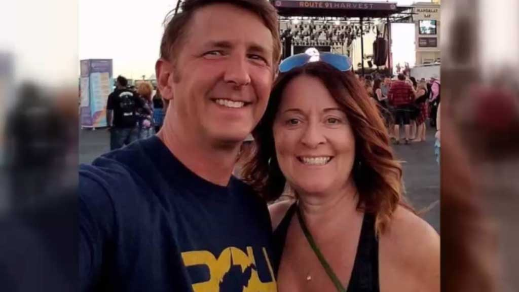 Husband speaks out after wife Denise Burditus died in his arms during Vegas massacre