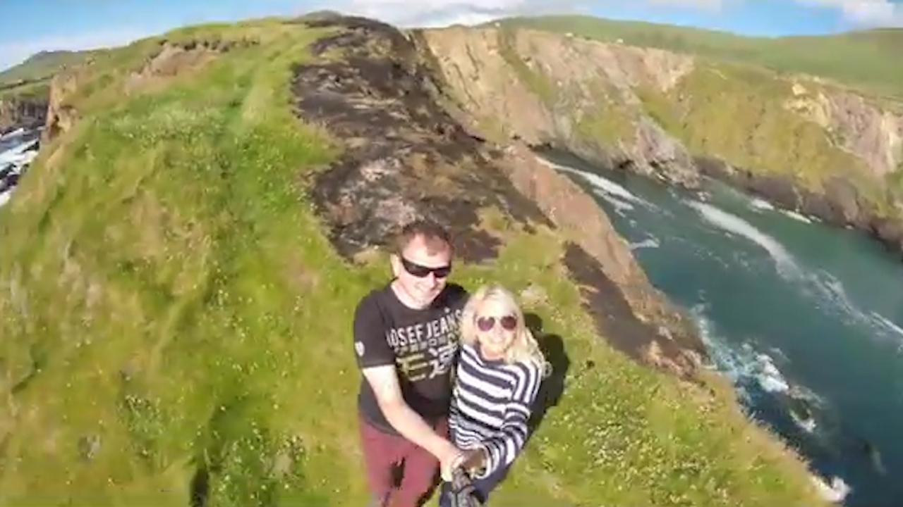 Ireland honeymoon video going viral