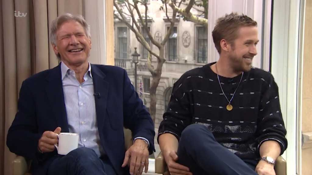 Ford and Gosling lose it in hilarious interview